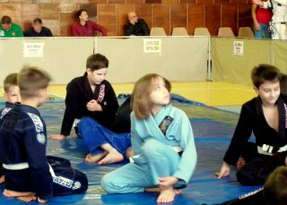 Young competitors in the Burlacu Open